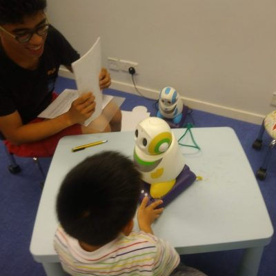 機哥伴小星 RABI (Robot for Autism Behavioral Intervention)課程