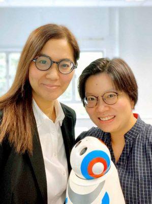 香港中文大學 陸秀霞博士 及 蘇詠芝教授